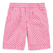 Okie Dokie® Print Bermuda Shorts - Toddler Girls 2t-5t