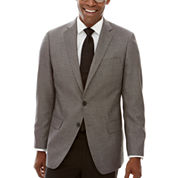 Claiborne® Black White Neat Sport Coat - Classic Fit