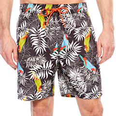 Jamaica Bay Pattern Swim Shorts