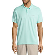 Columbia Short Sleeve Solid Knit Polo Shirt
