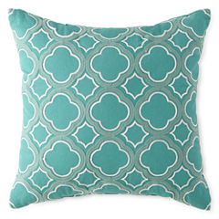 JCPenney Home™ Clover Trellis Decorative Pillow