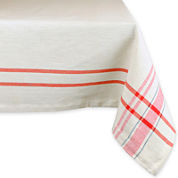 Design Imports French Stripe Tablecloth