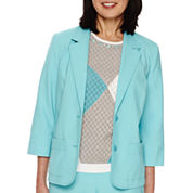 Alfred Dunner® Classic 3/4-Sleeve Jacket
