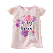 Oshkosh Short Sleeve T-Shirt-Toddler Girls