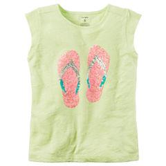 Carter's Knit Sleeveless T-Shirt-Preschool Girls