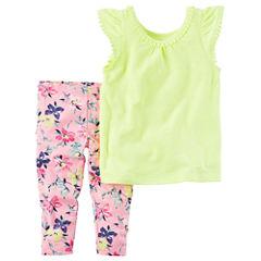 Carter'sTop and Legging Set Toddler Girls
