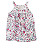 Carter's Tg Woven Top Tank Top - Toddler Girls