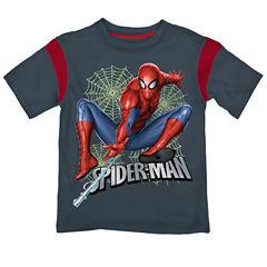 Spiderman Graphic T-Shirt-Preschool Boys