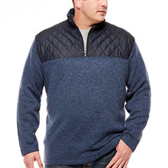 The Foundry Big & Tall Supply Co. Quarter-Zip Pullover Big and Tall