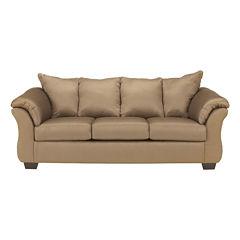 Signature Design by Ashley® Madeline Fabric Pad-Arm Sofa