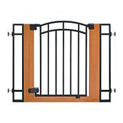 Summer Infant® Wood & Metal Walk-Thru Gate