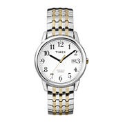 Timex® Mens Two-Tone Stainless Steel Expansion Strap Watch T2P2957R
