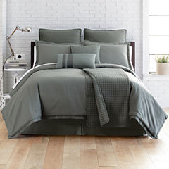 Studio™ Micro Grid 4-pc. Comforter Set + BONUS Coverlet Collection