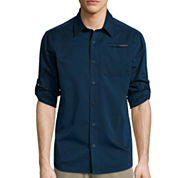 ZeroXposur® Air Long-Sleeve Woven Button-Front Shirt