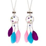 Carole 2-pk. Silver-Tone Best Friend Necklaces