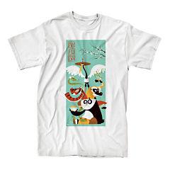 Kung Fu Panda Short-Sleeve Cotton T-Shirt
