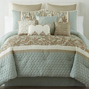 Home Expressions™ Willow 10-pc. Comforter Set & Accessories