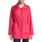 St. John's Bay Wind Resistant Water Resistant Raincoat