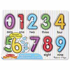 Melissa & Doug® Numbers Peg
