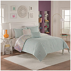 Vue Sibella 5-pc. Reversible Comforter Set