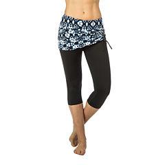 PL Movement By Pink Lotus Knit Workout Capris
