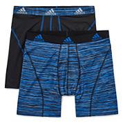 adidas® 2-pk. Sport Performance climalite® Boxer Briefs
