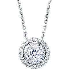 Brilliant Dream™  1/2 CT. T.W. Round Diamond Pendant Necklace