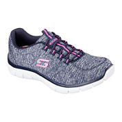 Skechers® Heart To Heart Womens Lace-Up Sneakers