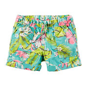 Carter's® Tropical Print Shorts - Preschool Girls 4-7