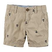 Carter's® Print Cargo Shorts - Toddler Boys 2t-5t