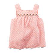 Carter's® Sleeveless Geo Top - Toddler Girls 2t-5t