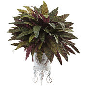 2' Peacock Bush Artificial Plant