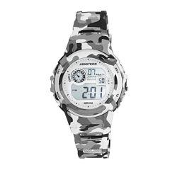 Armitron® Gray Camo Digital Chronograph Sport Watch