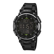Armitron® Mens Black Digital Sport Watch