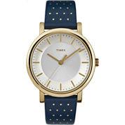 Timex Womens Blue Strap Watch-Tw2r276009j