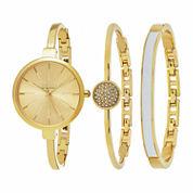 So & Co Womens Silver Tone Bracelet Watch-Jp15861