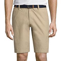 U.S. Polo Assn. Striped Chino Shorts