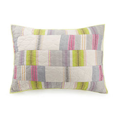 1977 Dry Goods Bright Light Standard Pillow Sham