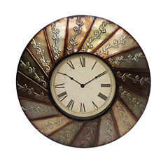 Swirl Pattern Clock