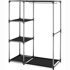 Whitmor Spacemaker Garment Rack and Shelves