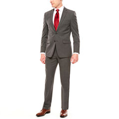 Men's Van Heusen Flex Gray Slim-Fit Suit Separates