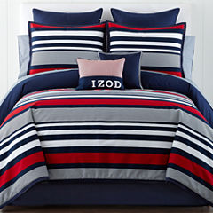 IZOD® Varsity Stripe Comforter Set & Accessories