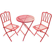 Chic 3-pc. Outdoor Bistro Set
