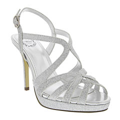 I. Miller Fatemah Cross-Strap High Heel Platform Sandals