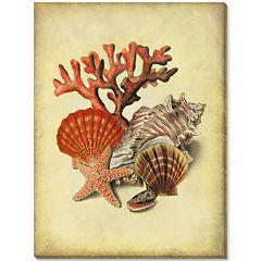 Under the Sea I Canvas Wall Art
