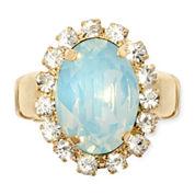 Vieste® Mint Gold Stretch Ring