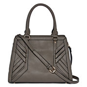 Louis Cardy Front Woven Detail Satchel