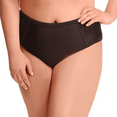 Paramour Solid High Waist Swimsuit Bottom-Plus