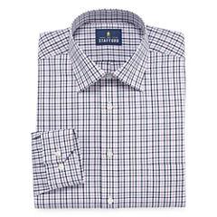 Stafford Easy-Care Broadcloth - Big & Tall Long Sleeve Dress Shirt