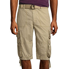 Decree Canvas Cargo Shorts